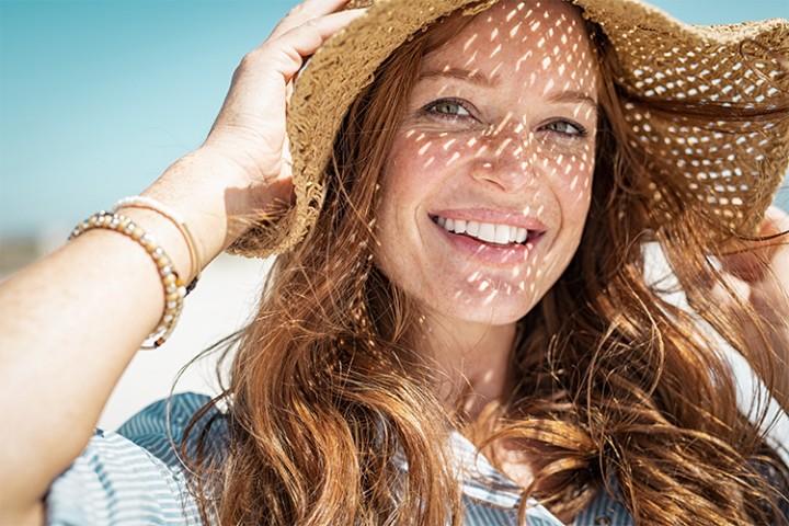 Хотите молодую и здоровую кожу - защитите ее солнца!