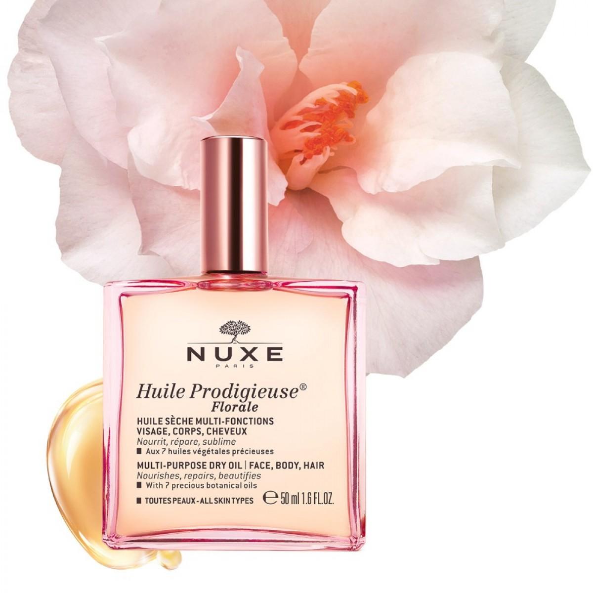 Цветочное сухое масло NUXE HUILE PRODIGIEUSE FLORALE 50 мл
