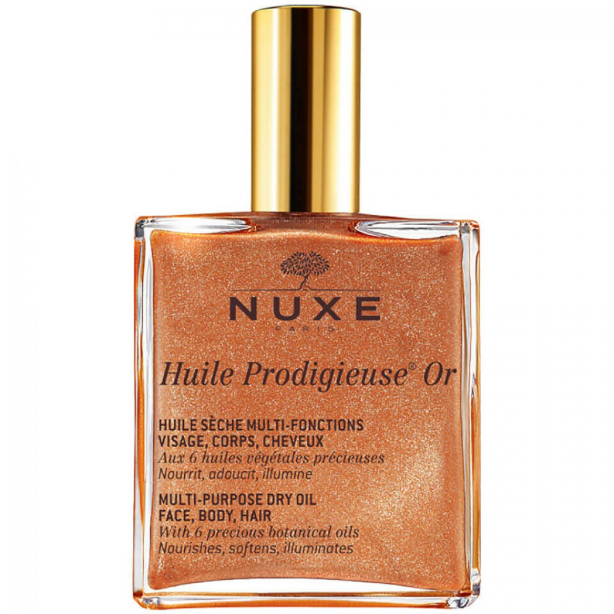 Мерцающее сухое масло NUXE HUILE PRODIGIEUSE OR 100 мл