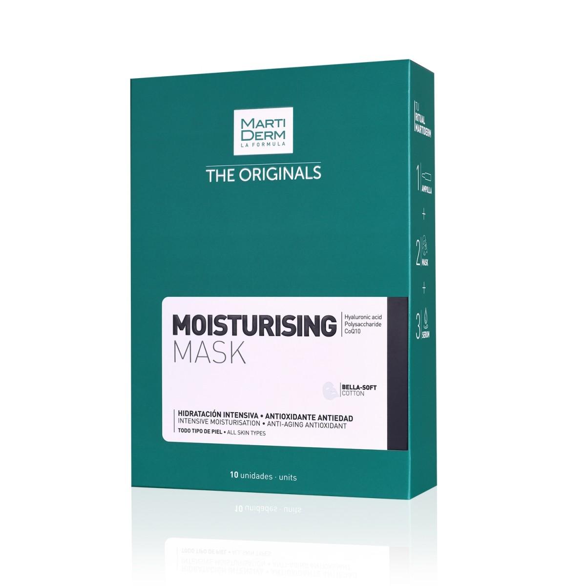 Увлажняющая тканевая маска Martiderm - упаковка 10 шт