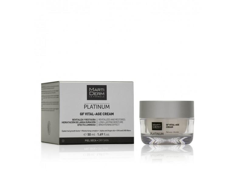 Дневной крем для сухой кожи Martiderm Platinum GF Vital-Age Cream Dry Skin
