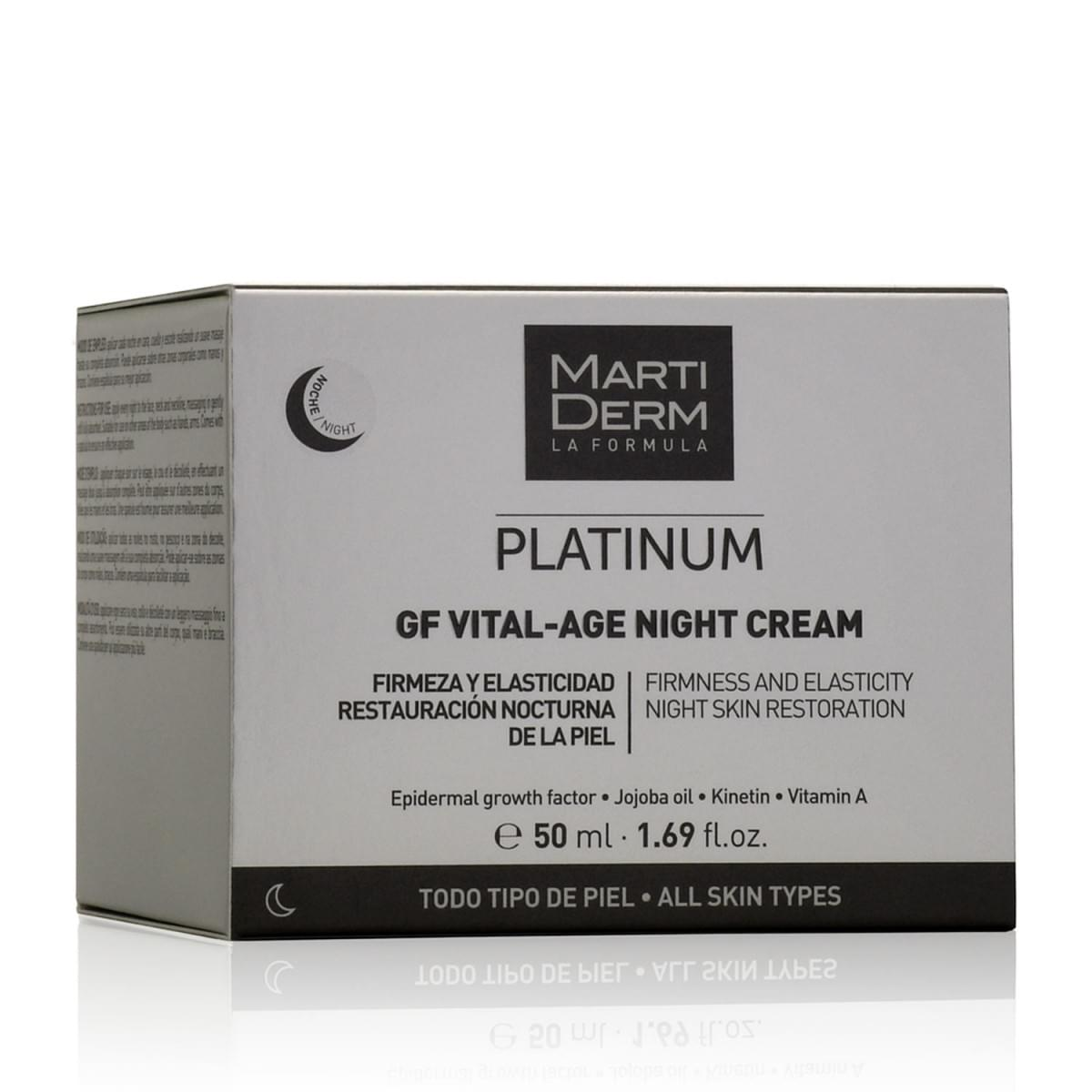 Ночной крем Martiderm Platinum GF Vital-Age Night Cream