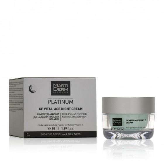Ночной крем Martiderm Platinum GF Vital-Age Night Cream