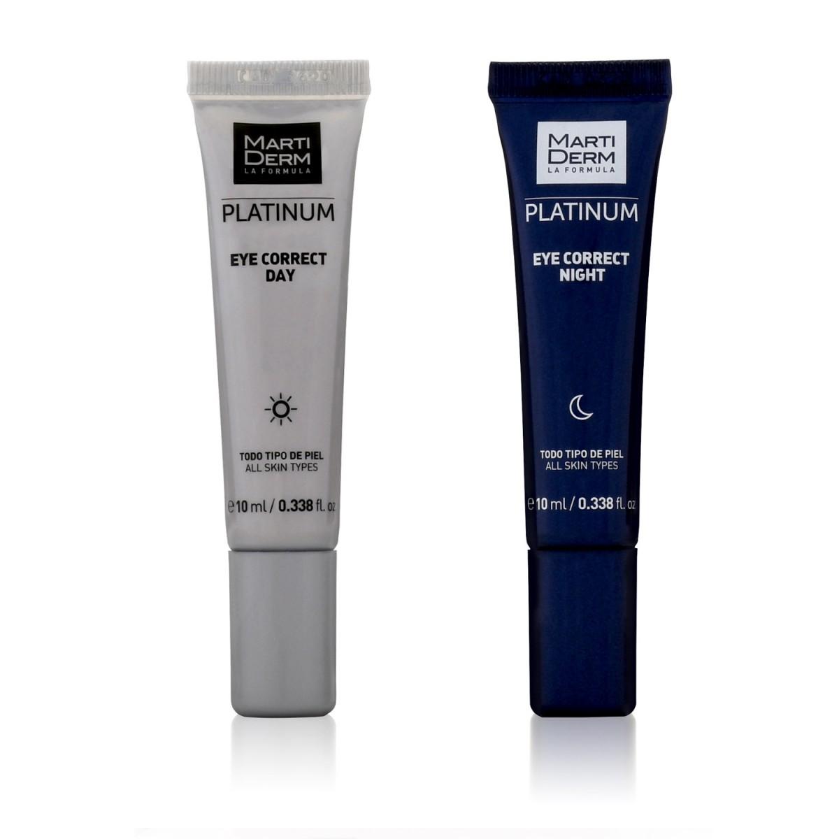 Крем для контура глаз Eye Correct Platinum Martiderm 2х10мл