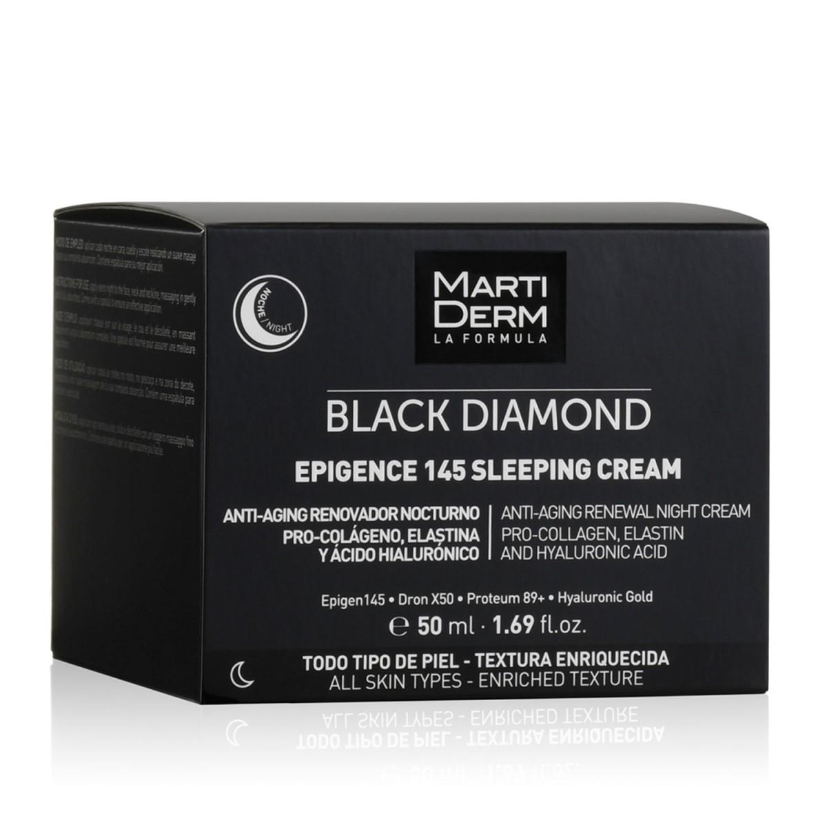 Ночной крем Martiderm Black Diamond Epigence 145 Sleeping Cream